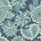 Floral Pattern,Seamless,Ornate,Pattern,Repetition,Backgrounds,Flower,Paisley Pattern,Decoration,Flourish,Vector