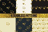 Love,Pattern,Backdrop,Wedding,Decoration,Seamless,Valentine's Day - Holiday,Repetition,Glamour,Glowing,Shape,Ornate,Backgrounds,Glitter,Yellow,Eternity,Gift,Romance,Confetti,Abstract,Fashion,template,Celebration,Illustration,Shiny,Symbol,Vector