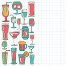 Martini Brand Vermouth,No People,Drink,Tropical Climate,Banner,Doodle,Wine,Collection,Martini,Beer - Alcohol,Illustration,Straight,Bar Counter,Wine Bottle,Icon Set,Computer Icon,Symbol,Poster,Banner - Sign,Glass - Material,Alcohol,Champagne,Backgrounds,Beach,Cocktail,Menu,Beach Party,Ice,Vector,Ice,Party - Social Event,Bottle,Blue,Pattern