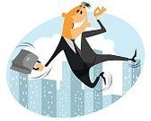 Men,Vector,Occupation,White,Business,Illustration,Businessman,Humor,One Person,Fun,Jumping,Joy,Cheerful,Young Adult,Achievement,Business Person,Cool,Celebration,Concepts,White Collar Worker,Urban Scene,Smiley Face,People,Businesswoman,Office,Success,Excitement