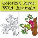 Animal,Illustration,Cheerful,Happiness,Book,Cute,Lizard,Vector,Coloring,Multi Colored,Child,Contour Drawing,Education,Leisure Games,Role Model,Tropical Climate,Baby,Toy,Small,Joy,Chameleon,Color Image,Page,Wildlife,Tail,Animals In The Wild,Black Color,Zoo,Cartoon,Reptile,Characters,Smiling,Nature,Outline,Preschool Age,Preschool Building,Sheet,Computer Graphic,Bleached,Isolated,Painted Image,Activity,Young Animal