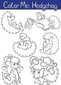 Nature,Characters,Happiness,Child,Book,Isolated,Vector,Cute,Mushroom,Painted Image,Small,Animals In The Wild,black-and-white,Baby,Forest,Posing,Backgrounds,Contour Drawing,Outline,Smiling,Hedgehog,White,Fun,Cartoon,Page,Illustration,Animal,Black Color,Activity,Coloring,Summer,Life,Wildlife,Cheerful,Ink,watercan,Computer Graphic,Color Image