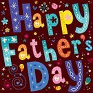 Celebration,Father,Day,Greeting Card,Illustration,Vector,Typescript,Father's Day,June