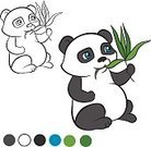 Nature,Animals In The Wild,Smiling,Book,Cheerful,Characters,Bear,Black Color,Child,China - East Asia,Fun,Outline,Plant,Collection,template,Preschool Age,Paintings,Cute,Bleached,Baby,Pets,Isolated,Activity,Panda - Animal,Cartoon,Art,Bamboo - Plant,Vector,Page,Illustration,Coloring,Happiness,Zoo,Animal,Education,Wildlife,Plan,Application Software,Image,Painted Image,Small,Young Animal,Color Image,Asia
