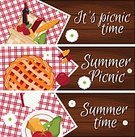 Abstract,Romance,Breakfast,Background,Outdoors,Picnic,Collection,Summer,Pencil,Wood - Material,Illustration,Nature,Tomato,Cooking,Food,Picnic Basket,Photographic Effects,Basket,Backgrounds,Cake,Grass,Vector,Dinner,Bread,Lunch,Apple - Fruit,Label,Checked Pattern,Textile