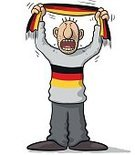 Ultra,Characters,Humor,Germany,One Person,Soccer,Spectator,Cute,Cartoon,Cheerful,Illustration,People,German Culture,National,Sport,Sports Team,Fan - Enthusiast,Playing,Playful,Furious,Fun,Vector,Design,Patriotism,Front View,Shouting,Cheering,Singing,Screaming,Crying,Standing