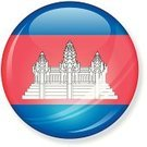 Cambodian Flag,Cambodia,Flag,Push Button,Interface Icons,Illustrations And Vector Art,Symbol,Vector Icons,Vector,Ilustration,National Flag