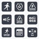 People,Slippery,Misfortune,Care,Men,Falling,Paying,Calendar,Flooring,Wet,Sign,Application Software,Vector,Wireless Technology,Pager,Badge,Shape,Symbol,Label,Token,Cleaning