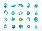 Abstract,Internet,Backgrounds,Blue,Business,Vector,Set,Splashing,Weather,Sea,Pattern,Single Object,Design Element,Beauty Product,People,Organic,Shape,Symbol,Wet,Liquid,Illustration,Environment,Drop,Food,Freshness,Computer Graphic,Circle