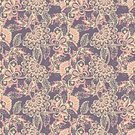 No People,Flower,Illustration,Seamless Pattern,Decoration,Backgrounds,Vector,Paisley Pattern,Pattern,Floral Pattern