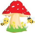 Fun,Happiness,Honey,Fly,Grass,Cute,Human Face,Illustration,Nature,Summer,White,Animal Wing,Smiling,Sketch,Pollen,Queen,Cheerful,Yellow,Bee,Vector,Backgrounds,Insect,Cartoon,Characters,Mushroom,Mascot,Animal,Sweet Food,Wildlife,Sting,Sky,Pollination,Scale,Single Object