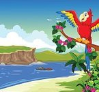 Character,Feather,Humor,Happiness,Joy,Symbol,Animal Wildlife,Cheerful,Caucasian Ethnicity,Animal,Animal Body Part,Standing,Animal Head,Beak,Bird,Black Color,Blue,Red,White Color,Yellow,Tropical Climate,Parrot,Toucan,Macaw,Sky,Branch,Cloud - Sky,Summer,River,Mountain,Lake,Forest,Beauty,Fun,Announcement Message,Animal Wing,Cut Out,Anthropomorphic Smiley Face,Illustration,Cartoon,Blank,Mascot,Beauty In Nature,Copy Space,Cloudscape,Vector,Stone - Object,Characters,Banner - Sign,Animated Cartoon,Beautiful People,Banner,61814,Smiley Face
