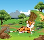 Grass,Happiness,Smiling,Illustration,Forest,Flower,Design,Design Professional,Family,Joy,Landscape,Smiley Face,Summer,Young Animal,Sitting,Carefree,Mountain,Posing,Safari,Cute,Zoo,Characters,Domestic Cat,Symbol,Cheerful,Childhood,Cartoon,Humor,Cliff,Isolated,Painted Image,Small,Single Line,Wildlife,Single Object,Safari Animals,Mascot,Animal Mouth,Looking At Camera,Tropical Rainforest