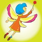 Flying,Fairy,Air,Joy,Carefree,Summer,Child,Romance,Cute