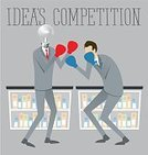 People,Sport,Vector,Electric Lamp,Isometric,Businessman,Boxing,Teamwork,Struggle,Rivalry,Illustration,Business,War,Data,Computer Graphic,Strength,Success,Togetherness,Effort,Conflict,Men,Abstract,Achievement,Backgrounds,Manager