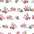 Nature,Leaf,Romance,Summer,Wildflower,Vector,Fashion,Invitation,Decoration,Computer Graphic,Greeting,Abstract,Bouquet,Backgrounds,Botany,Petal,Flower Head,Wrapping Paper,Peony,Branch,Autumn,Illustration,Seamless,seamless pattern,Floral Pattern,Pattern