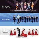 Business,Party - Social Event,Classical Concert,Performance,Banner,Bookmark,Commercial Sign,template,Design Element,Backgrounds,Flamenco Dancing,Passion,Modern,Silhouette,Isolated,Vector,Disco Dancing,Music,People,Fun,Elegance,Celebration,Ornate,Illustration,Sport,Activity,Holiday,Popular Music Concert,Dancing,Plan,Sale,Design,Set,Collection,Irish Culture,Label,Disco,Classical Style,Horizontal,Flat,Nightclub,Facial Expression,Beach,Action,Stage - Performance Space,Stage Costume,Flamenco