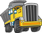 Dump Truck,Truck,Ilustration,Vector,Clip Art,Large,Mode of Transport,Land Vehicle,Transportation,Illustrations And Vector Art,Power