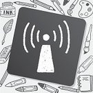 Internet,Business,Vector,Symbol,Computer,Telephone,Station,Mail,Web Page,Sign,Scribble,Creativity,Tower,Radio,Doodle,Drawing - Activity,Pencil,Illustration,Computer Graphic,Backgrounds