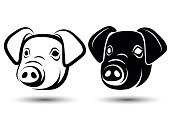 Cut Out,Silhouette,Art,Pig,Domestic Animals,Silhouette,Animal,Art And Craft,Vector,Human Body Part,Farm,Animal Body Part,Food,Pencil Drawing,Computer Graphic,Sign,Piglet,Human Face,Computer Graphics,Symbol,Illustration,Design,Pork,Outline,Animal Head,Sketch,Meat,Front View,White Background,Black Color,Striped,White Color