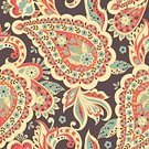 No People,Flower,Old-fashioned,Illustration,Seamless Pattern,Decoration,Arabic Style,Vector,Paisley Pattern,Pattern,Floral Pattern