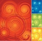 Swirl,Backgrounds,Pattern,Multi Colored,Abstract,Blue,Design,Bright,Red,Vector,Modern,Green Color,Vibrant Color,Vitality,Yellow,Shape,Ilustration,Heat - Temperature,Cold - Termperature,Creativity,Vector Backgrounds,Illustrations And Vector Art