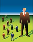 Giant,Leadership,Manager,Businessman,Men,Front View,Large,Group Of People,Representing,Male,Business Person,Partnership,Photography,Bossy,Foreman,Standing,Green Color,Vector,Only Men,Color Image,Medium Group Of People,Business,Shadow,Business Teams,Illustrations And Vector Art,People,Vertical