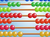 Mathematics,Backgrounds,Red,Multi Colored,Abacus