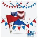 Greeting Card,Backgrounds,USA,Abstract,Celebration,Day,Number 4,Flag,Circa 4th Century,Election