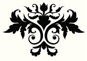 filigree,Scroll Shape,Ornate,Gothic Style,Vector,Decoration,Symmetry,Black Color,Design Element,Old-fashioned,flourishes,Retro Revival,Black And White,Swirl,Isolated,Leaf,Isolated On White,Illustrations And Vector Art,Vector Ornaments,Silhouette,Curled Up,No People,Spiral,Nature