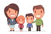 Child,Adult,Cut Out,Caucasian Ethnicity,Females,Boys,Men,Women,Love,Cute,Cheerful,Mother,Illustration,People,Wife,Husband,Family,Small,Daughter,Father,Lifestyles,Fun,Vector