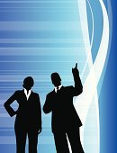 Partnership,Confidence,Business,Blue,Outline,Businessman,Women,Silhouette,Team,Standing,Abstract,Vibrant Color,Business,business team,Business Concepts,Business People,Suit,Composition,Young Adult,Backgrounds,Vitality,Office Worker
