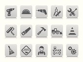 Symbol,Construction Industry,Computer Icon,Home Improvement,Work Helmet,Working,Work Tool,Manual Worker,Construction Site,Setting,Hardhat,Hammer,Drill,Broom,Wrench,Ruler,Earth Mover,Action,Equipment,Hand Saw,Traffic Cone,Paint Roller,Screwdriver,Ilustration,Interface Icons,Gear,Bulldozer,Roadblock,Circle,Claw Hammer