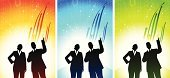 Partnership,Togetherness,Confidence,Taking Off,Growth,Business,Silhouette,Abstract,Teamwork,Orange Color,Businessman,Green Color,Team,Multi Colored,Progress,Blue,Standing,Young Adult,Moving Up,Journey,Arrow Symbol,Graph,Composition,Business Concepts,Outline,Business People,Suit,Back To Back,Women,Global Communications,business team,Vibrant Color,Office Worker,Business,Back Lit,Vitality