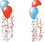 Birthday,Balloon,Red,Blue,Fourth of July,White,Election,July,Party - Social Event,Politics,Patriotism,Day,Independence,France,USA,UK,Symbol,Vector,Ilustration,Pattern,Design,Isolated,Design Element,Celebration,Ribbon,Decoration,Shiny,Holiday,Multi Colored,Vector Cartoons,String,Holiday Symbols,Birthdays,Vibrant Color,Bright,Holidays And Celebrations,Rubber,Illustrations And Vector Art,England,Fun,Star Shape,Color Image,Colors