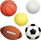 Soccer Ball,Tennis Ball,Tennis,Sports Equipment,Soccer,Ball,Sport,Golf,Football,Vector,Golf Ball,Basketball,Sphere,No People,Ilustration,Sports Activity,Playing,Sports Symbols/Metaphors,Sports And Fitness,Illustrations And Vector Art,Leisure Games