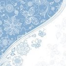 Flower,Floral Pattern,Design,Blue,Pattern,Backgrounds,Abstract,Retro Revival,White,Old-fashioned,Symbol,Springtime,Single Line,Decoration,Vector,Summer,Computer Graphic,Plant,Ornate,Nature,Silhouette,Elegance,Textured Effect,Scroll Shape,Ilustration,Wave Pattern,Flower Head,Petal,Season,Leaf,Copy Space,Square,Colors,Wallpaper Pattern,Duotone,Branch,Stem,White Background,foliagé,Bud
