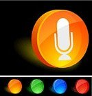 Microphone,Cylinder,Three-dimensional Shape,Push Button,Symbol,Computer Icon,Interface Icons,Orange Color,Circle,Blank,Internet,Disk,Shiny,Blue,Sign,Grid,Computer,Red,Glass - Material,Bright,Glass,Light - Natural Phenomenon,Brightly Lit,No People,Green Color,Religious Icon,Empty,Turquoise,Shadow,Lightweight,Pattern,Focus on Shadow,Vector,Yellow,Technology,Electronics,Color Gradient,Wire Mesh,Vibrant Color,Black Color,Set,Design,Ilustration,Illustrations And Vector Art,Plastic,Vector Icons,Lighting Equipment