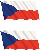 Czech Flag,Czech Republic,Flag,Waving,Flying,Actions,Business Travel,Holidays And Celebrations,Holiday Symbols,Flapping,Flowing,Wind,Business