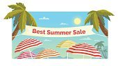 No People,Sign,Summer,Illustration,Symbol,Business Finance and Industry,Retail,Season,Business,Beach,Vector