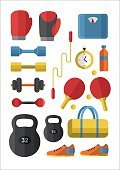 Powe,No People,Sign,Healthy Lifestyle,Mass - Unit of Measurement,Healthcare And Medicine,Illustration,Icon Set,Symbol,Sport,Flat,Health Club,Vector,Dumbbell,Gym