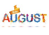 Identity,Single Word,Holiday - Event,Cheerful,Summer,Positive Emotion,Hello,Illustration,Month,Welcome,August,Spray,Watercolor Painting,Decoration,Season,Paint,Typescript,Vector,Design,Emotion,Text,Multi Colored