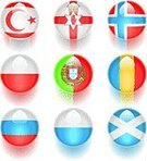 Flag,All European Flags,Sphere,Norway,Northern Ireland,Circle,Water,Scotland,Russia,Poland,San Marino - Italy,Romania,Curve,Interface Icons,Gemstone,Computer Graphic,Multi Colored,Color Image,Vibrant Color,Vector Icons,Brightly Lit,Bright,Portugal,Sports Backgrounds,Travel Backgrounds,Travel Locations,Sports And Fitness,Illustrations And Vector Art,Plastic