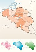 Belgium,Map,Cartography,Benelux,Brussels,Europe,Transportation,Travel Locations