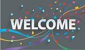 Lettering Background 'welcome Back TO stock vectors - 365PSD com