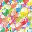 Vertical,No People,Illustration,Balloon,Decoration,Backgrounds,Colored Background