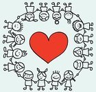 Heart Shape,Child,Love,Human Hand,Offspring,Christmas,Cartoon,Symbols Of Peace,Holding,Drawing - Art Product,Symbol,Child's Drawing,Holding Hands,Multi-Ethnic Group,Line Art,Doodle,Outline,Sketch,Vector,Little Girls,Friendship,Ilustration,Handshake,Scribble,Valentine's Day - Holiday,Ethnic,Little Boys,Happiness,Cheerful,Ethnicity,Shape,Group Of People,Positive Emotion,Mixed Race Person,Pencil Drawing,Sister,Peace On Earth,Brother,Looking,Looking At Camera,Caucasian Ethnicity,Standing,Image,Smiling,Caricature,Vector Cartoons,Relationships,Babies And Children,Lifestyle,Illustrations And Vector Art