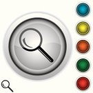 Focus - Concept,Magnifying Glass,Symbol,Glass - Material,Analyzing,Computer Icon,Lens - Optical Instrument,Discovery,Interface Icons,Magnification,Searching,Looking,Red,Green Color,Orange Color,Metal,Vector,Religious Icon,Computer Graphic,Technology Symbols/Metaphors,Shiny,Vector Icons,Modern,Optical Instrument,Ilustration,Yellow,Objects/Equipment,Blue,Technology,Design Element,Illustrations And Vector Art,Digitally Generated Image