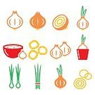 Spice,Meal,Seasoning,Onion Ring,Vegetable,Illustration,Nature,Groceries,Onion,Cooking,Flower Pot,Cross Section,Food,Onion Soup,Groceries,Bowl,Scallion