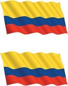 Colombian Flag,Colombia,Flag,Waving,Flying,Flapping,Backgrounds,Flowing,Wind,Banner,Backdrop,Holidays And Celebrations,Vector Backgrounds,Holiday Symbols,Business Travel,Illustrations And Vector Art,Business
